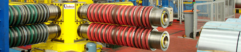 Cutting lines for metal coils