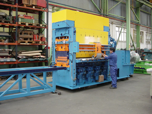 Erection of Leveller machine fitted with Rolls Cleaning System
