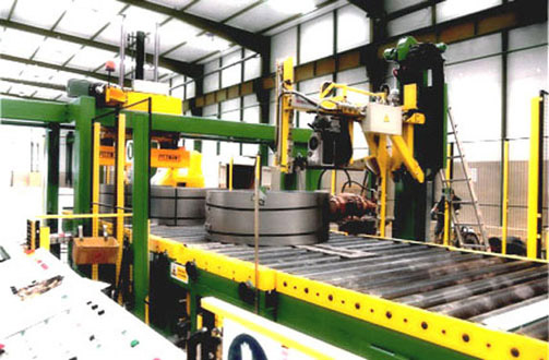 Packaging & Stacking Line up to 5 t. coils.