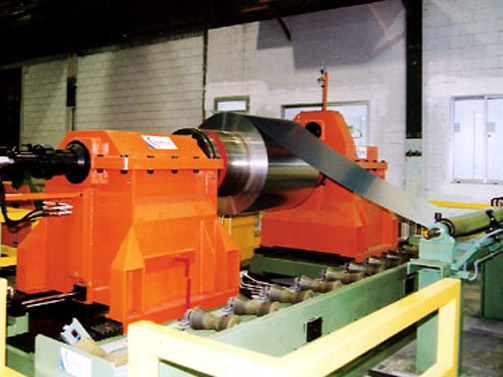 Decoiler for Aluminium Cut to length Line