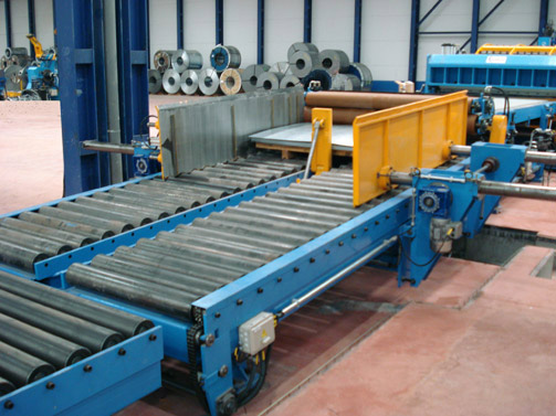 Slopping Stacker for 2000 x 3 mm