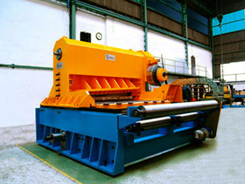 Flying Shear with Hydraulic Clutch for Stainless St. 2000mm x 10mm