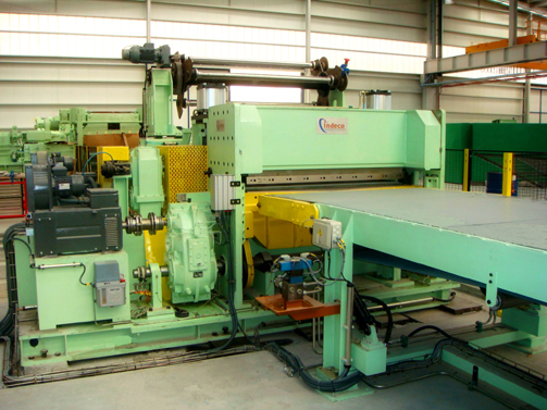 High speed Electronic Shear (90 m/min) for stainless strip for 1500 x 3 mm