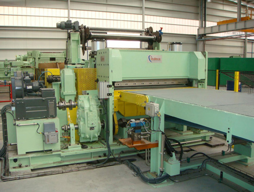 Supply of a High Speed (90 m/min) Electronic Shear for Cut to Length Line