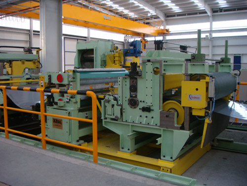 Supply of a Desplaceable Tension Unit + Rotary Belt Bridle for Slitter for Stainless Steel