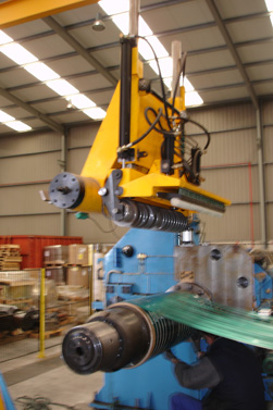 Supply of an Automatic Splitters Press Arm System for Recoiler to get high quality coils